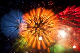 Những bức ảnh pháo hoa chụp bằng kỹ thuật phơi sáng dài tuyệt đẹp