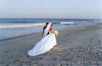 5 quy tắc cần nhớ khi chụp ảnh cưới trên bãi biển