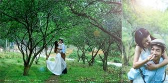 Vài mẹo nhỏ khi chụp ảnh cưới ngoại cảnh