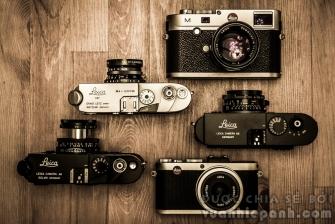 Máy ảnh Leica - Sự tinh tế của người Đức