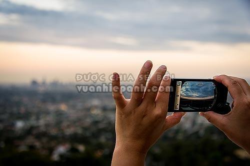 chụp ảnh điện thoại