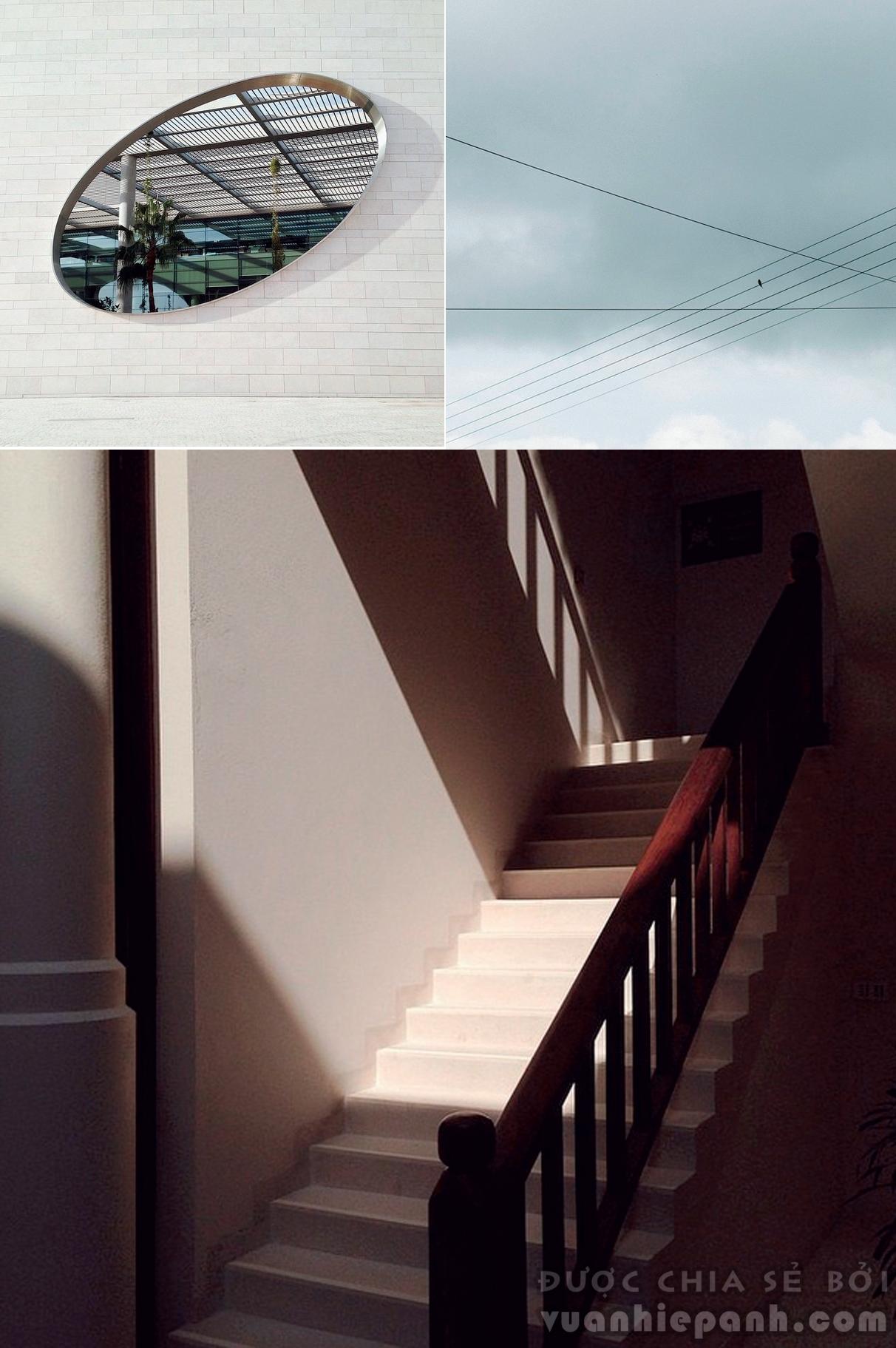 Background trắng mang đến cảm giác về không gian rộng và thoáng cho bức hình