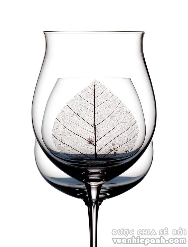 wine-glasses-and-leaf