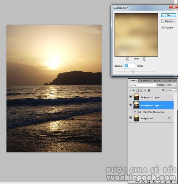 [Photoshop] Khắc phục lỗi ảnh bị nhòe bằng High Pass và Apply