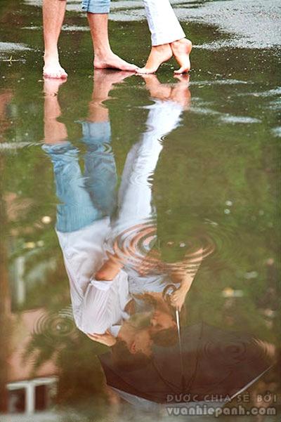 Mẹo tạo gợn sóng mặt nước cho ảnh thêm lãng mạn