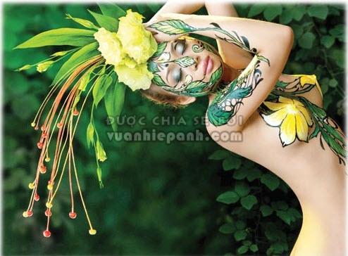 ảnh nude, nude, ánh sáng, định kiến, Dương Quốc Định, triển lãm, Giấc mơ chiều, nude về hoa