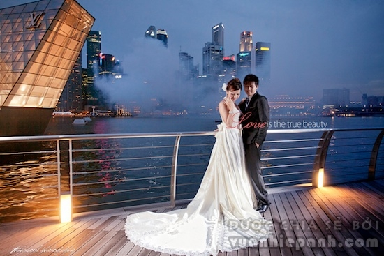 Pre Wedding in Night Photography