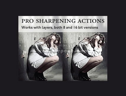 Photoshop Action Pro Sharpening