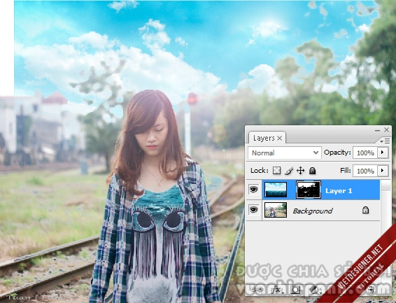 tutorial photoshop tutorial ghep anh
