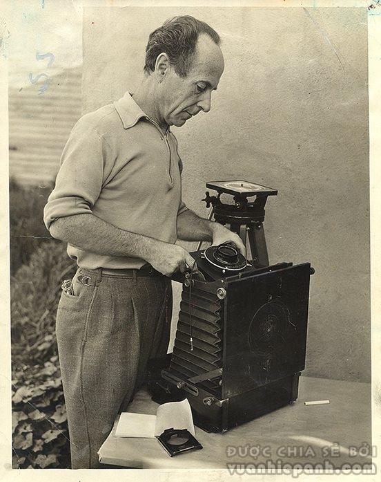 Edward Weston - con đường đời tiêu biểu của một nghệ sỹ nhiếp ảnh