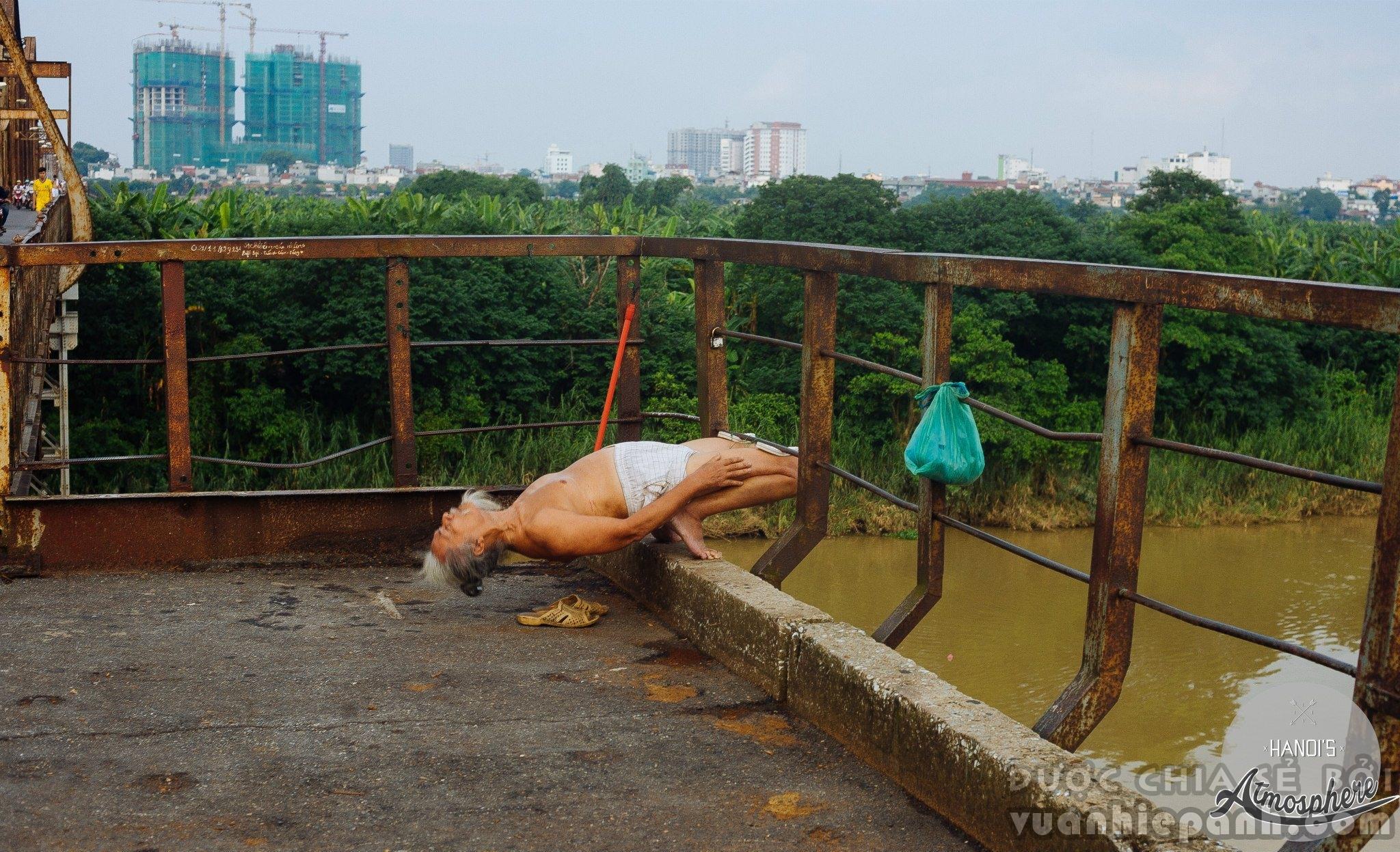 Cầu Long Biên 2014.