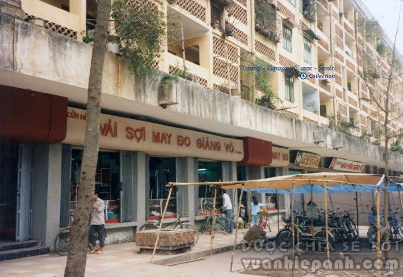 Giảng Võ - Hà Nội 1991. Ảnh: Lewis M. Stern