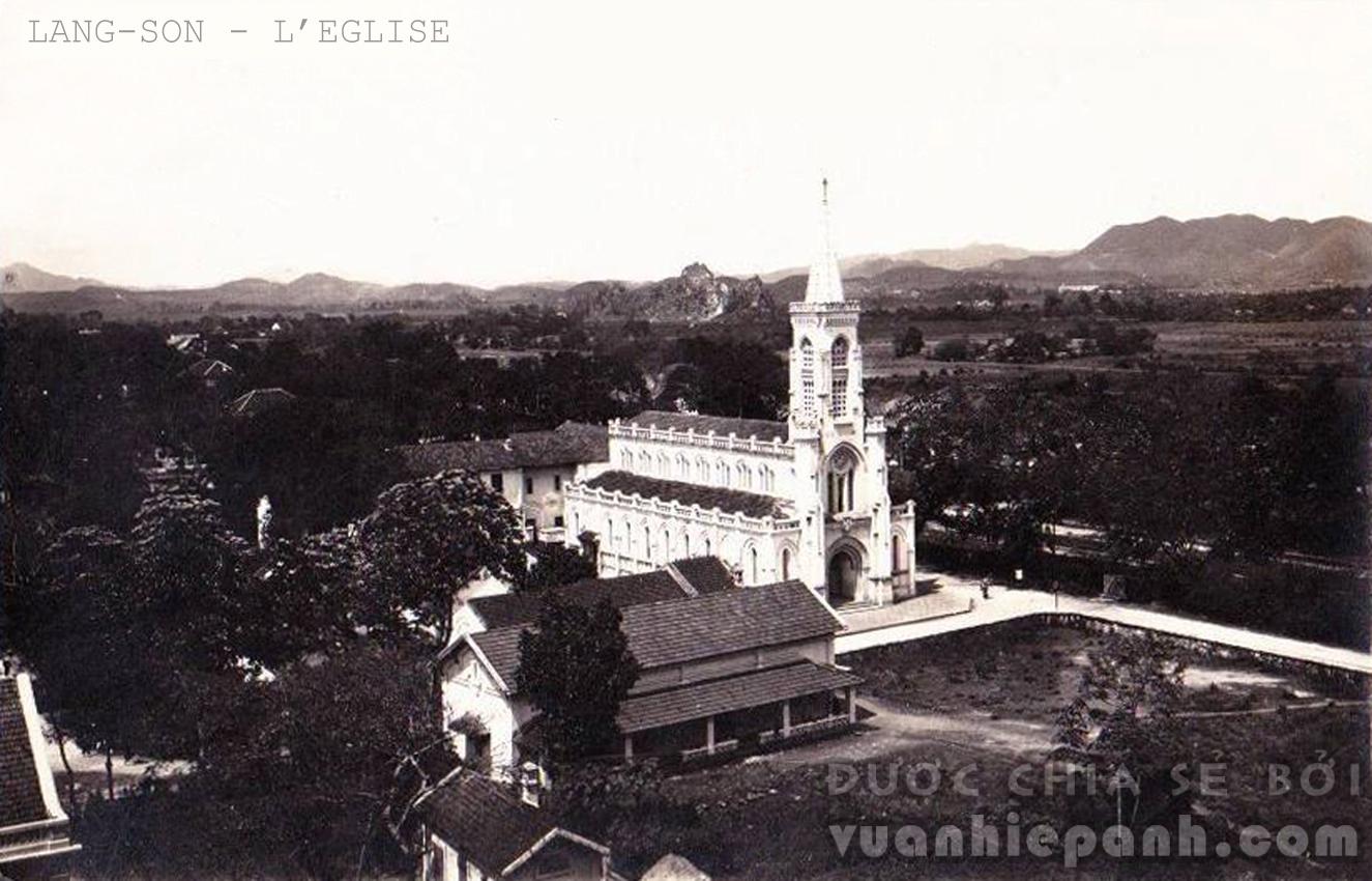 Nhà thờ ở Lạng Sơn.
