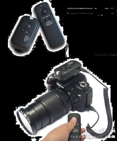 Remote máy ảnh FM
