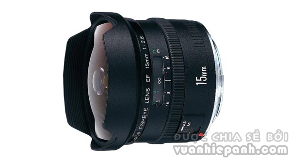 Canon EF 15mm/2.8 fisheye