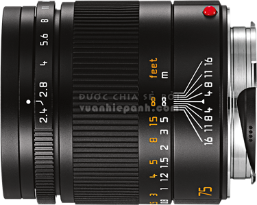 Leica Summarit-M 75mm F2.4 ASPH