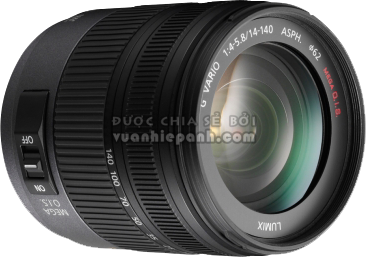 Panasonic Lumix G Vario HD 14-140mm F4-5.8 OIS