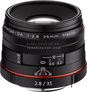 HD Pentax DA 35mm F2.8 Macro Limited